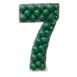 Πλαίσιο μπαλονιών Αριθμός 7