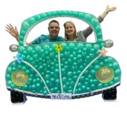 Πλαίσιο μπαλονιών Αυτοκίνητο
