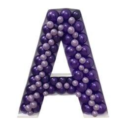 Πλαίσιο μπαλονιών Γράμμα Α