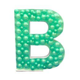 Πλαίσιο μπαλονιών Γράμμα B