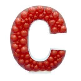 Πλαίσιο μπαλονιών Γράμμα C