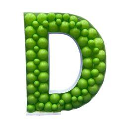 Πλαίσιο μπαλονιών Γράμμα D