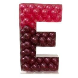 Πλαίσιο μπαλονιών Γράμμα E