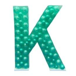 Πλαίσιο μπαλονιών Γράμμα K