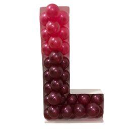 Πλαίσιο μπαλονιών Γράμμα L