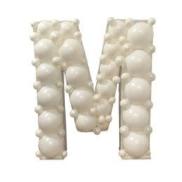 Πλαίσιο μπαλονιών Γράμμα M