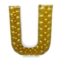Πλαίσιο μπαλονιών Γράμμα U