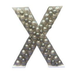 Πλαίσιο μπαλονιών Γράμμα X