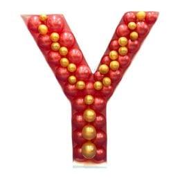 Πλαίσιο μπαλονιών Γράμμα Y