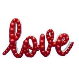 Πλαίσιο μπαλονιών Love