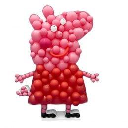 Πλαίσιο μπαλονιών Πέππα το Γουρουνάκι