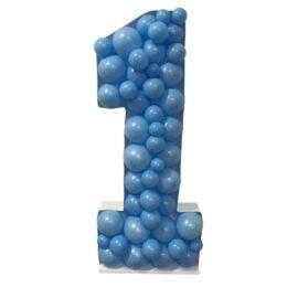 Πλαίσιο μπαλονιών Αριθμός 1