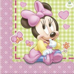 Χαρτοπετσέτες Baby Minnie Mouse (20 τεμ)