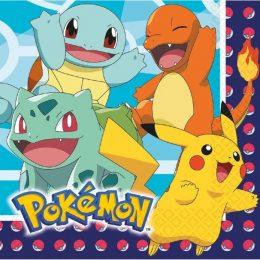 Χαρτοπετσέτες Pokemon (16 τεμ)