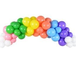 DIY Γιρλάντα με Μπαλόνια Rainbow 200cm