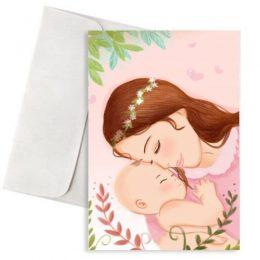 Ευχετήρια Κάρτα για Νέα Μαμά