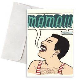 """Ευχετήρια Κάρτα """"MAMA Queen"""""""
