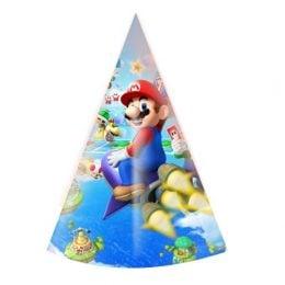 Καπελάκια πάρτυ Super Mario (6 τεμ)