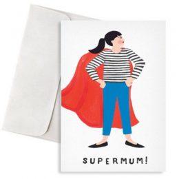"""Κάρτα για τη μαμά """"SuperMum"""""""