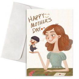 """Κάρτα Γιορτή Μητέρας """"Full of Love & Kindness"""""""