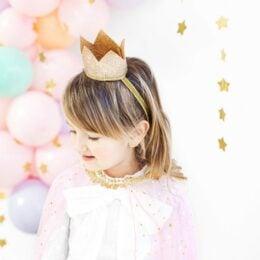 Κοριτσάκι Στέμμα Χρυσό