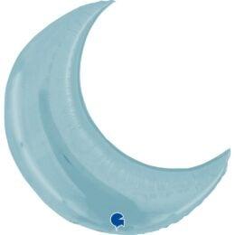 Μπαλόνι Φεγγάρι παστέλ Γαλάζιο