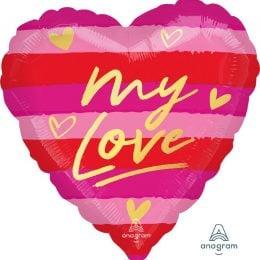 Μπαλόνι Καρδιά My Love