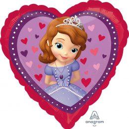 Μπαλόνι Καρδιά Πριγκίπισσα Σοφία