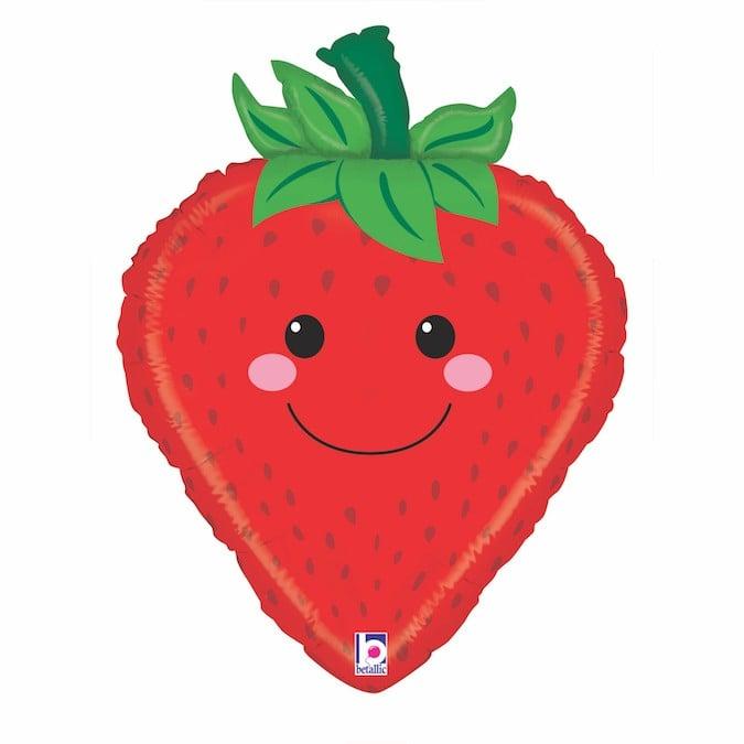 Μπαλόνι χαμογελαστή Φράουλα