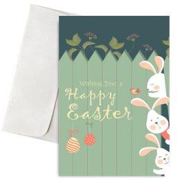 Πασχαλινή Κάρτα Happy Easter