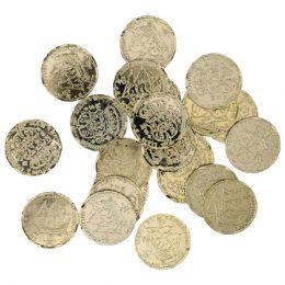 Πειρατικά Νομίσματα με χάρτη (72 τεμ)