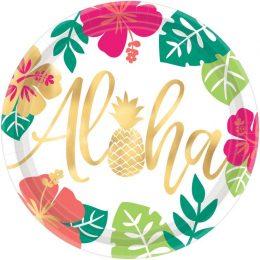 Πιάτα φαγητού Aloha (8 τεμ)