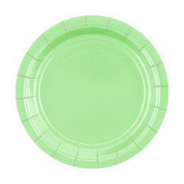 Πιάτα γλυκού πράσινο Μέντας (14 τεμ)