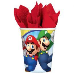 Ποτήρια πάρτυ Super Mario (8 τεμ)