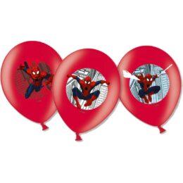 Σετ μπαλόνια Spiderman (6 τεμ)