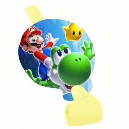 Σφυρίχτρες Blowouts Super Mario (8 τεμ)