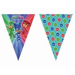 Τριγωνικά Σημαιάκια Pj Masks