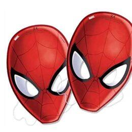 Χάρτινες Μάσκες Spiderman (6 τεμ)