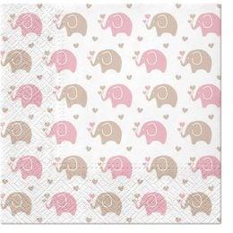 Χαρτοπετσέτες Baby Elephant (20 τεμ)