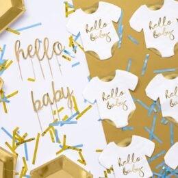 Χαρτοπετσέτες Φορμάκι μωρού Hello Baby (20 τεμ)