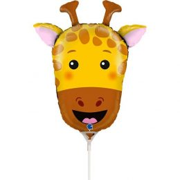 Mini Shape μπαλόνι κεφάλι Καμηλοπάρδαλης