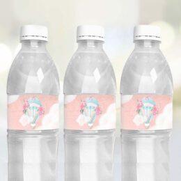 Ετικέτες για μπουκάλια νερού Αερόστατο