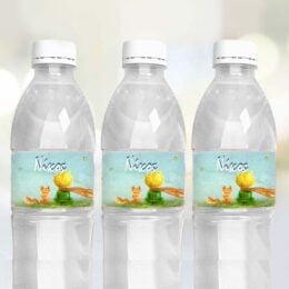 Ετικέτες για μπουκάλια νερού Μικρός Πρίγκιπας (8 τεμ)