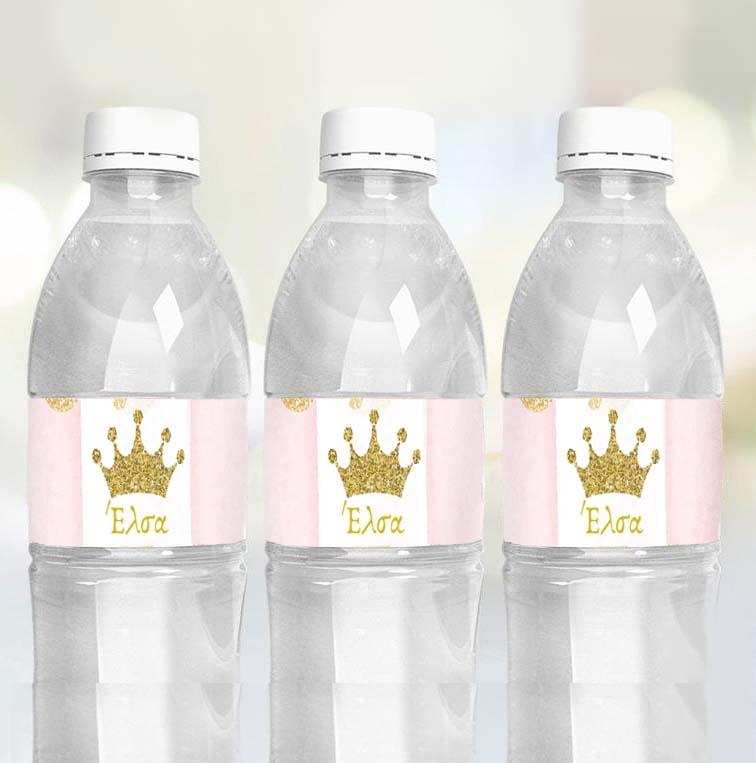Ετικέτες για μπουκάλια νερού Κορώνα (8 τεμ)