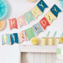 Γιρλάντα Happy Birthday