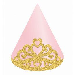 Καπέλα πάρτυ Πριγκίπισσα (4 τεμ)