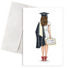 """Κάρτα Αποφοίτησης """"Finally Finished"""""""