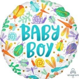 Μπαλόνι Baby Boy Ζουζουνάκια Watercolor