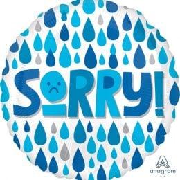 """Μπαλόνι """"Sorry"""" Σταγόνες Βροχής"""