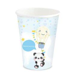 Ποτήρια με όνομα Panda (6 τεμ)